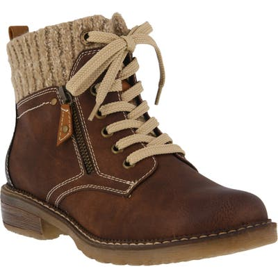 Spring Step Khazera Lace-Up Boot