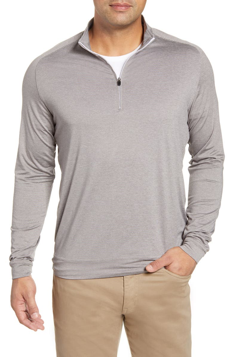 JOHNNIE-O Vaughn Classic Fit Quarter Zip Performance Pullover, Main, color, 021