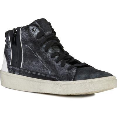 Geox Warley 6 Sneaker, Black
