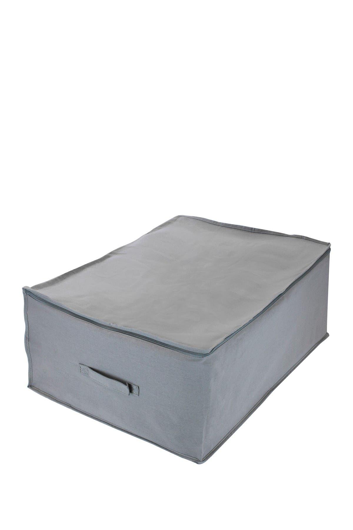 Image of Sorbus Jumbo Foldable Storage Organizer Bag - Grey