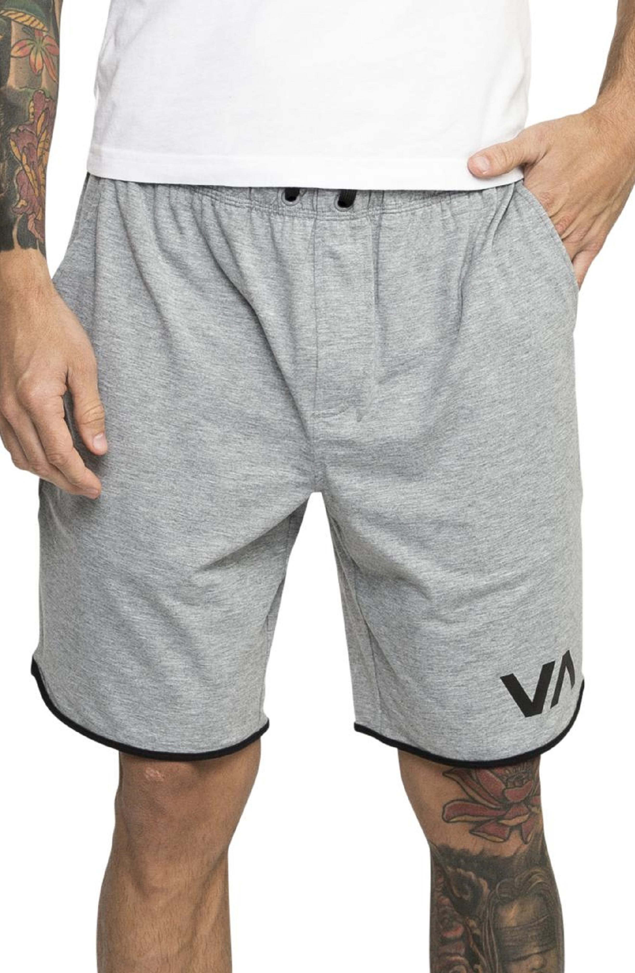VA Sport II Shorts, Main, color, ATHLETIC HEATHER