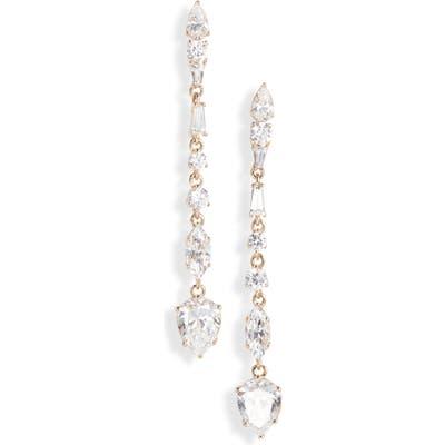 Nadri Mia Linear Drop Earrings