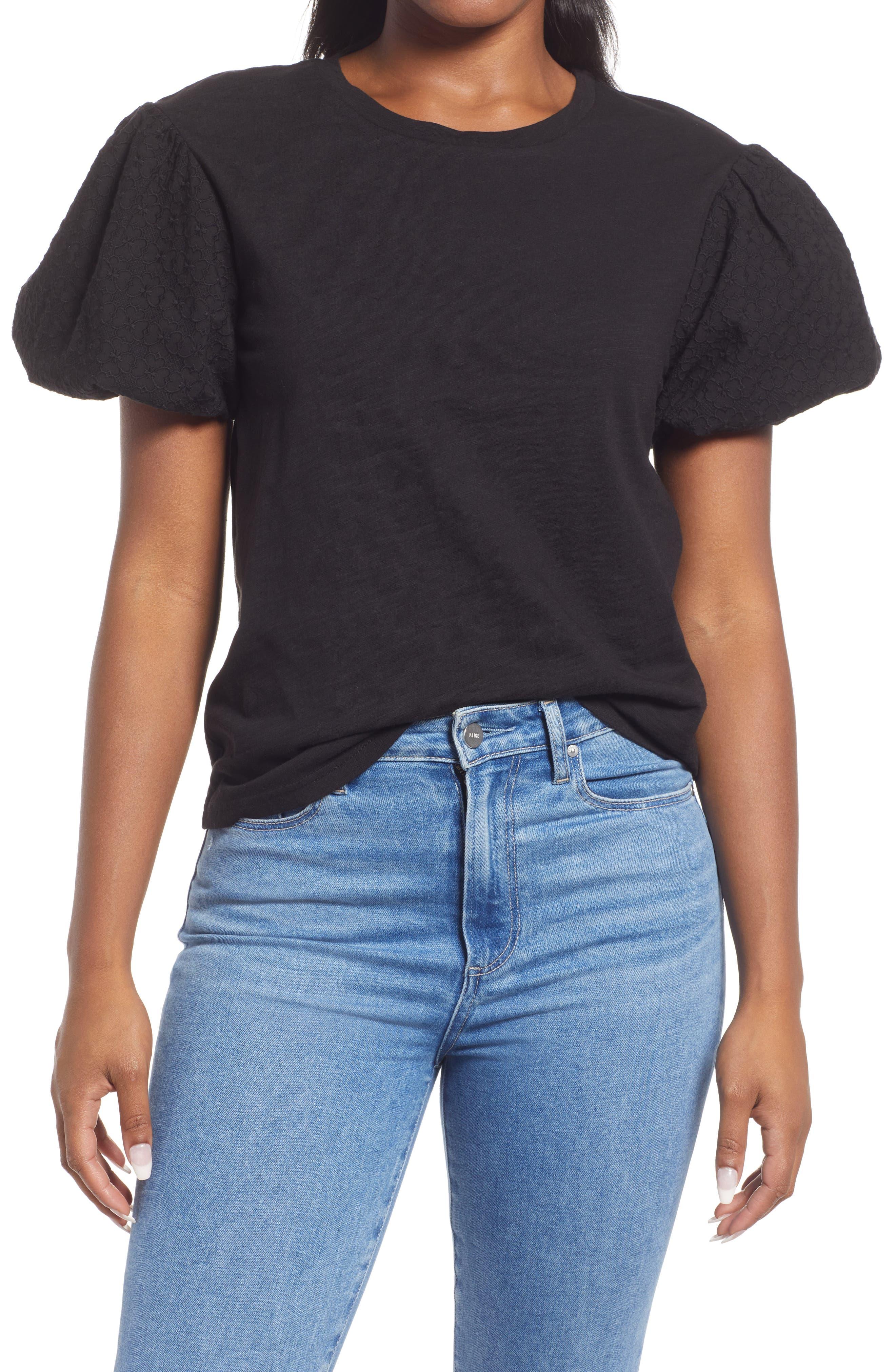 Puff Sleeve T-Shirt