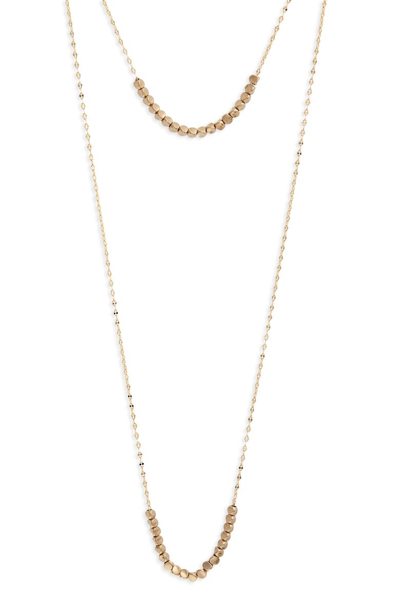 SEREFINA Sultry Double Layer Necklace, Main, color, 710