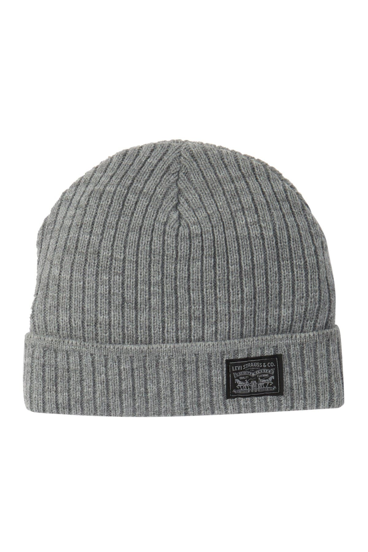 Image of Levi's Woven Label Knit Beanie