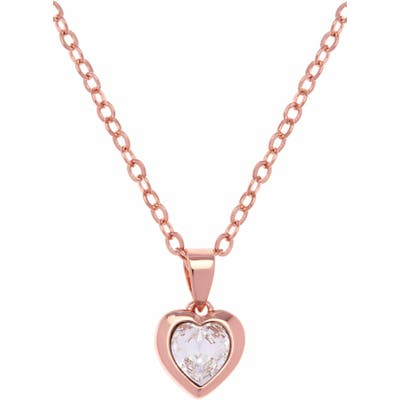 Ted Baker London Hannela Swarovski Crystal Heart Pendant Necklace