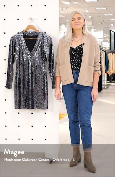 Glitter Long Sleeve Dress, sales video thumbnail
