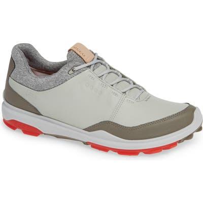 Ecco Biom Hybrid 3 Gore-Tex Golf Shoe, Grey