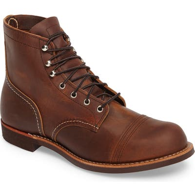Red Wing Iron Ranger Cap Toe Boot - Brown