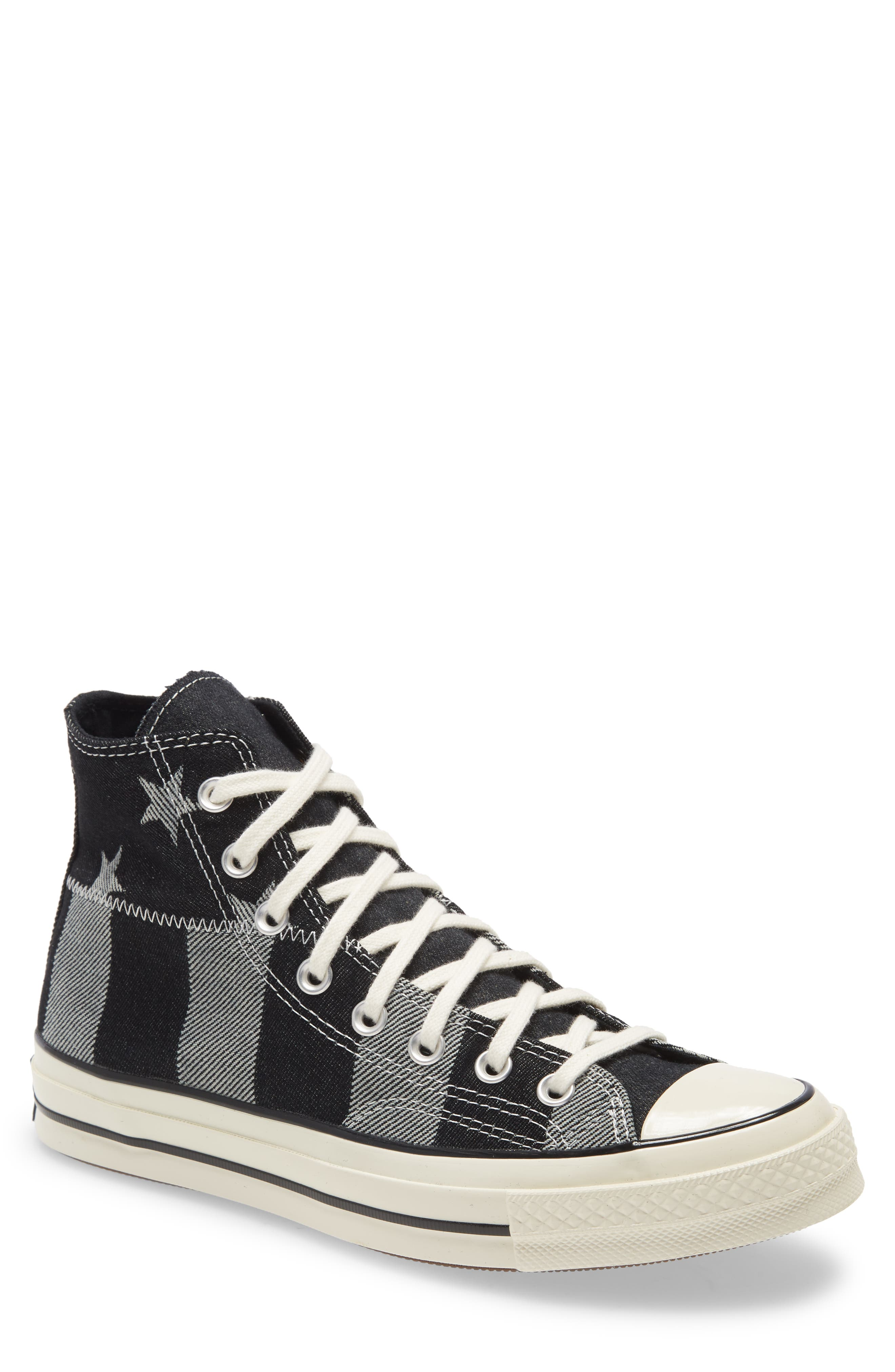 Image of Converse Chuck Taylor® All Star® Chuck 70 High Top Denim Sneaker