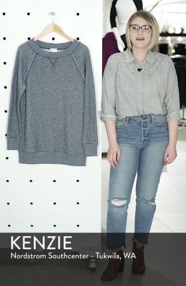 Space Dye Tunic Sweatshirt, sales video thumbnail