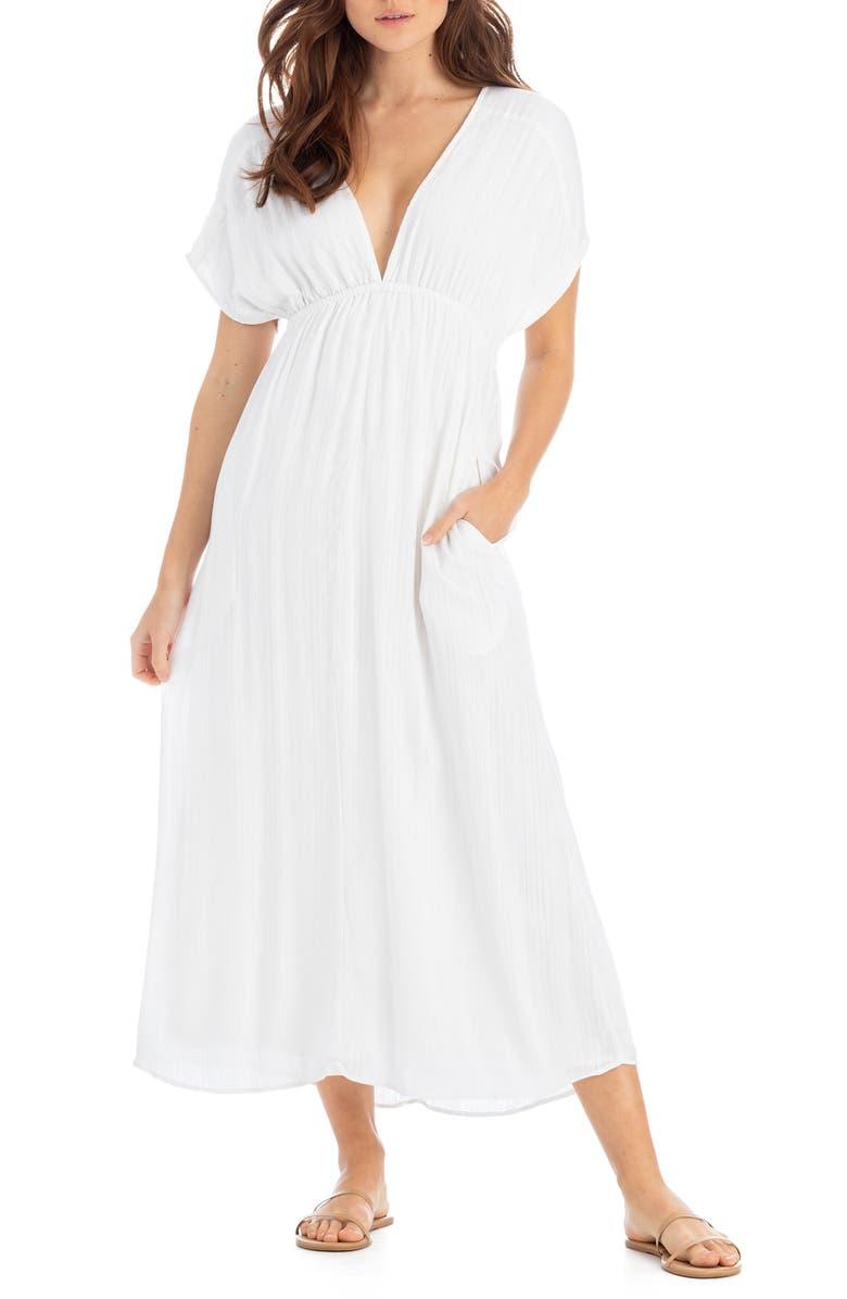 TAVIK Serena Midi Cover-Up, Main, color, WHITE