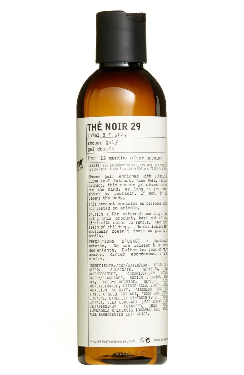LE LABO 'Thé Noir 29' Shower Gel, Main, color, NO COLOR