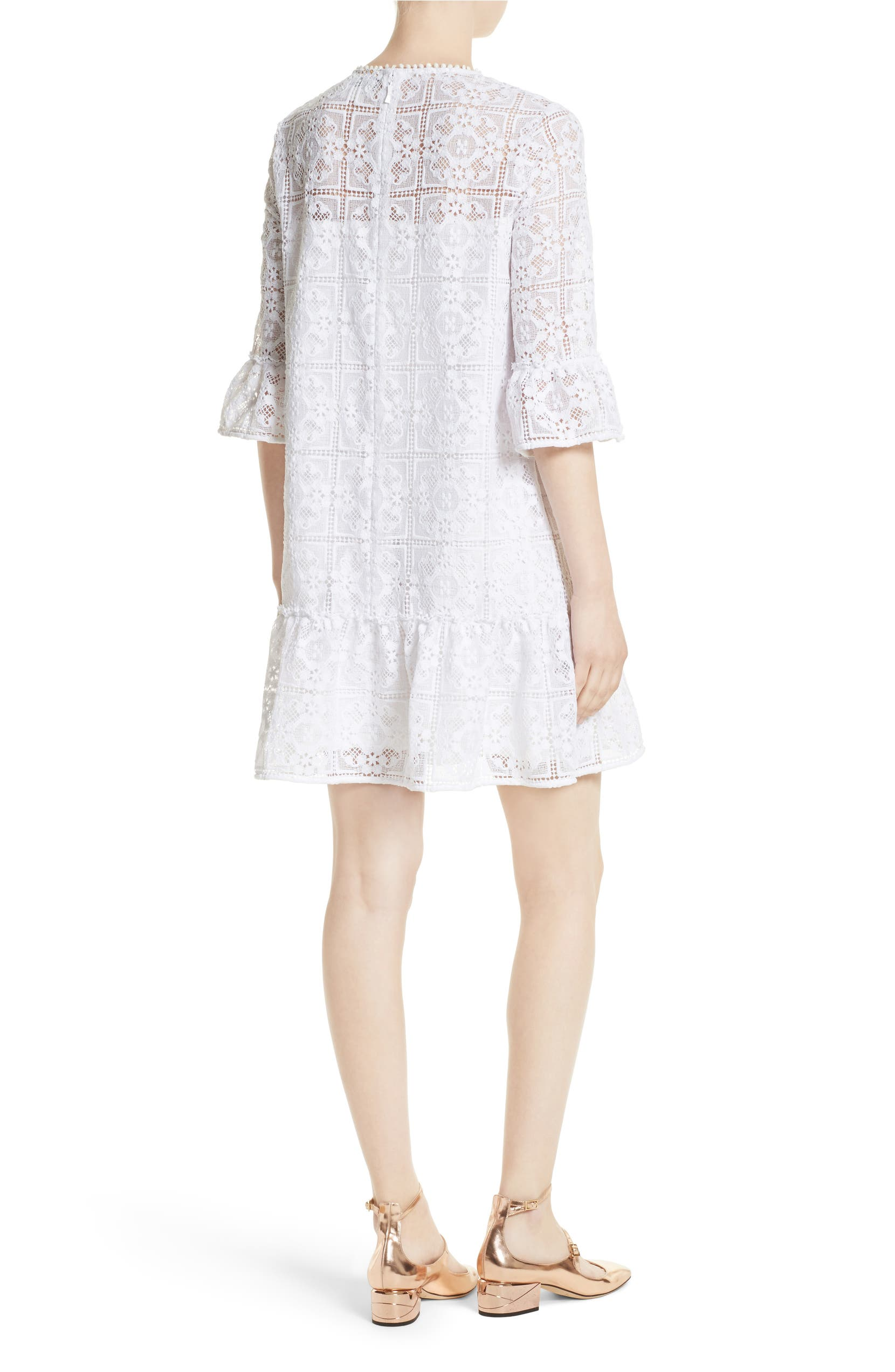 fc131a8fa394 kate spade new york flounce lace shift dress | Nordstrom