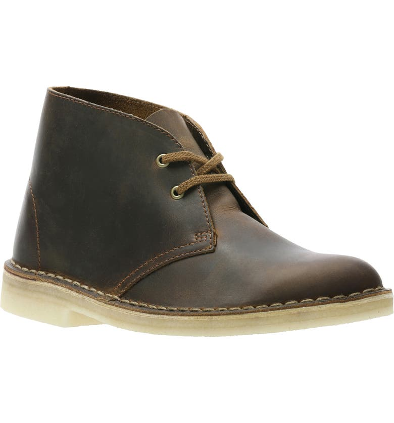 CLARKS<SUP>®</SUP> Desert Chukka Boot, Main, color, BEESWAX