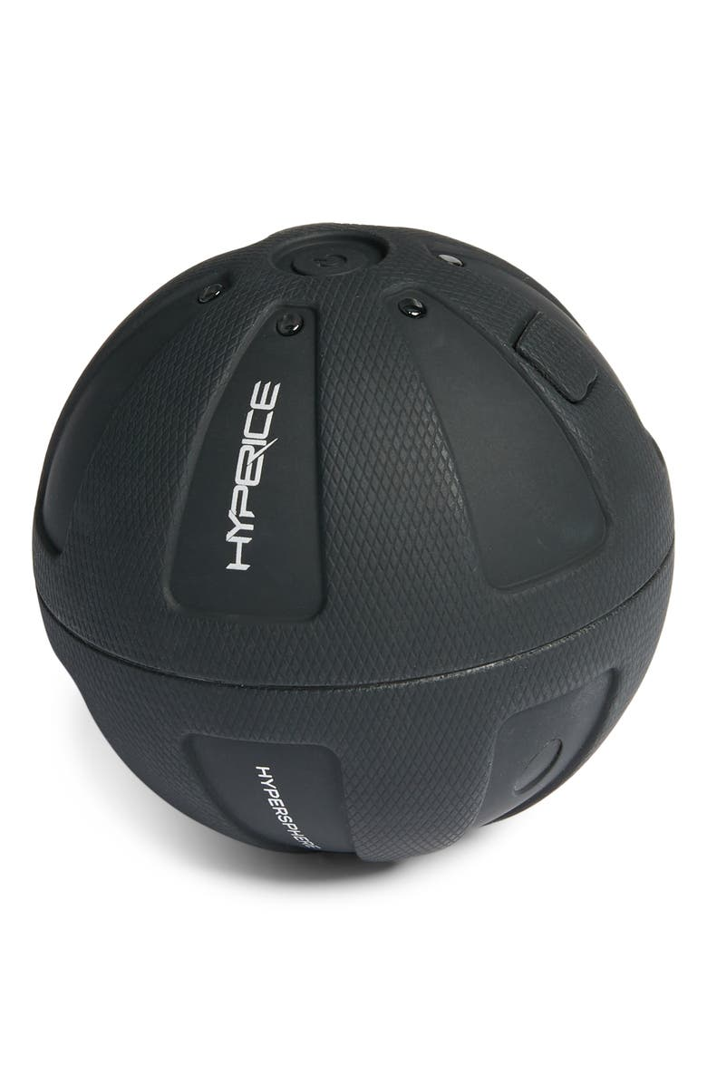 HYPERICE Hypersphere Mini Vibrating Fitness Massage Ball, Main, color, BLACK