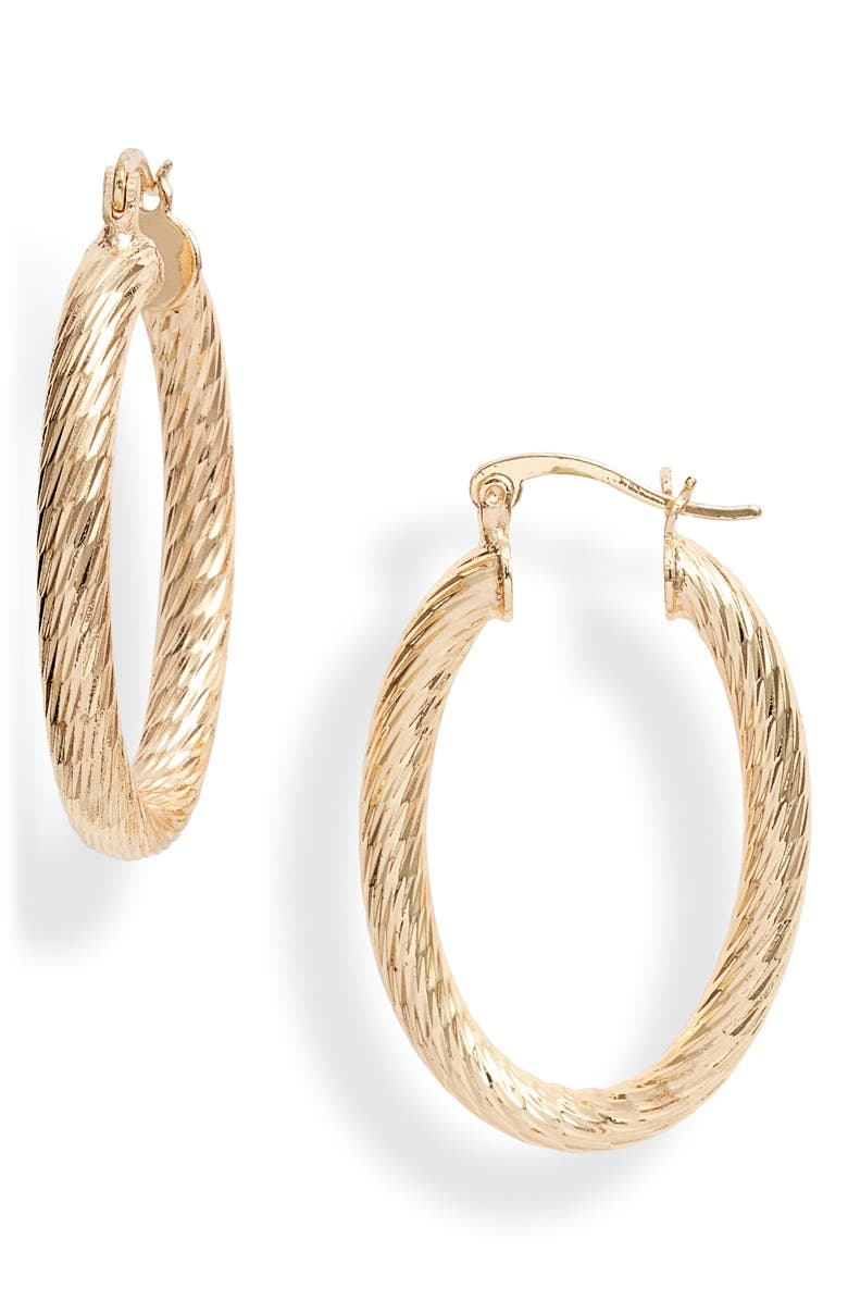 BRACHA Valentina Hoop Earrings, Main, color, 710