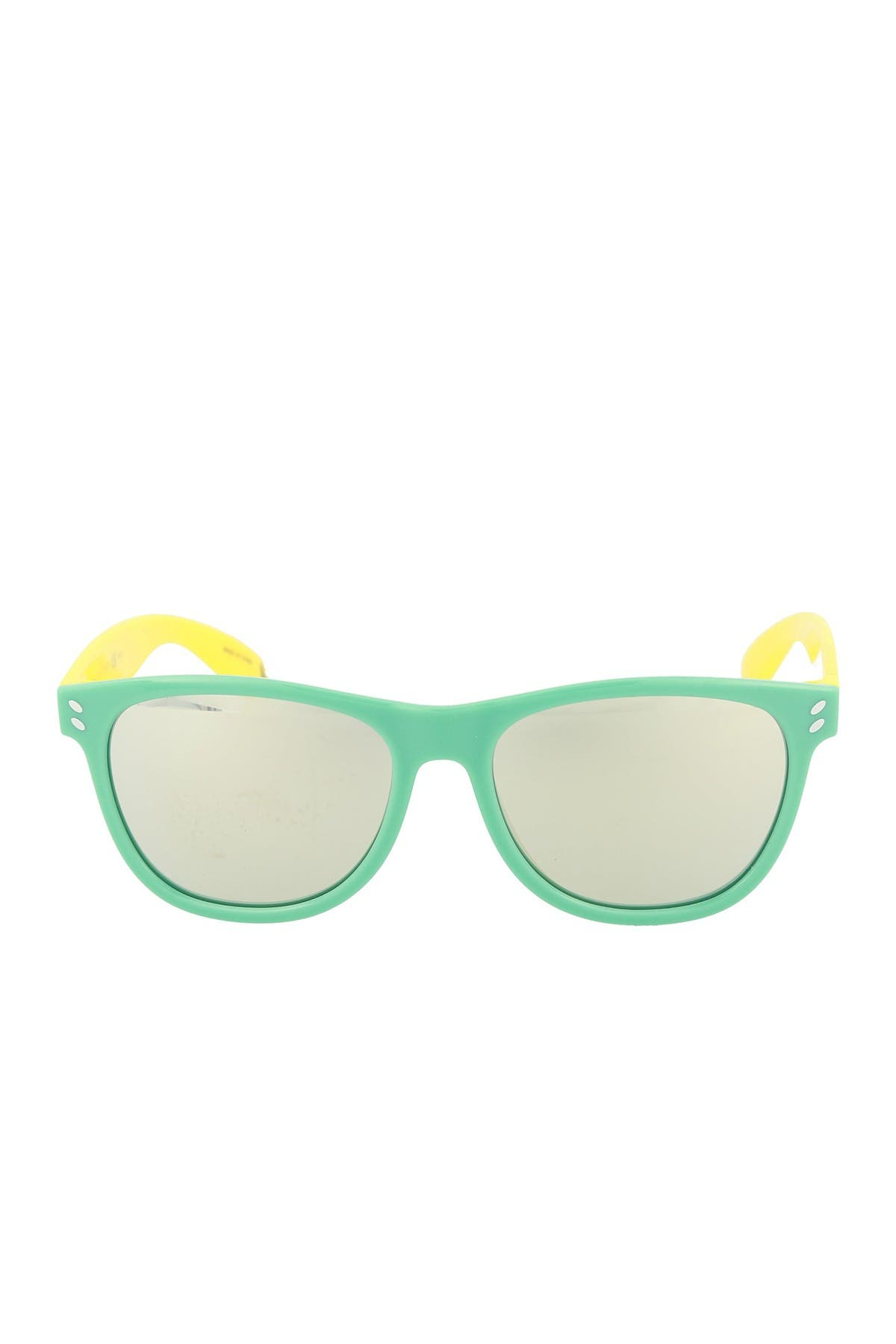 Image of Stella McCartney 49mm Clubmaster Sunglasses