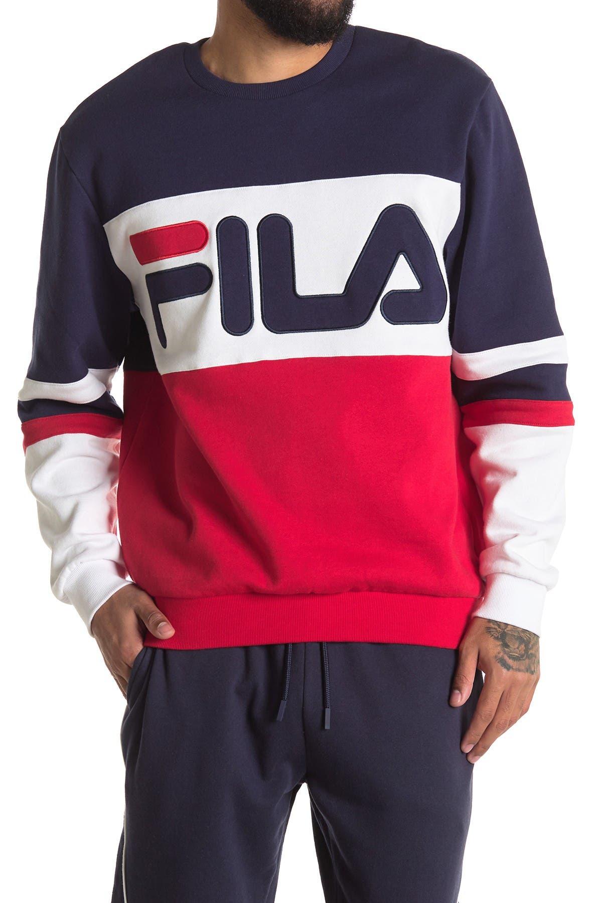 Image of FILA USA Freddie Logo Sweatshirt
