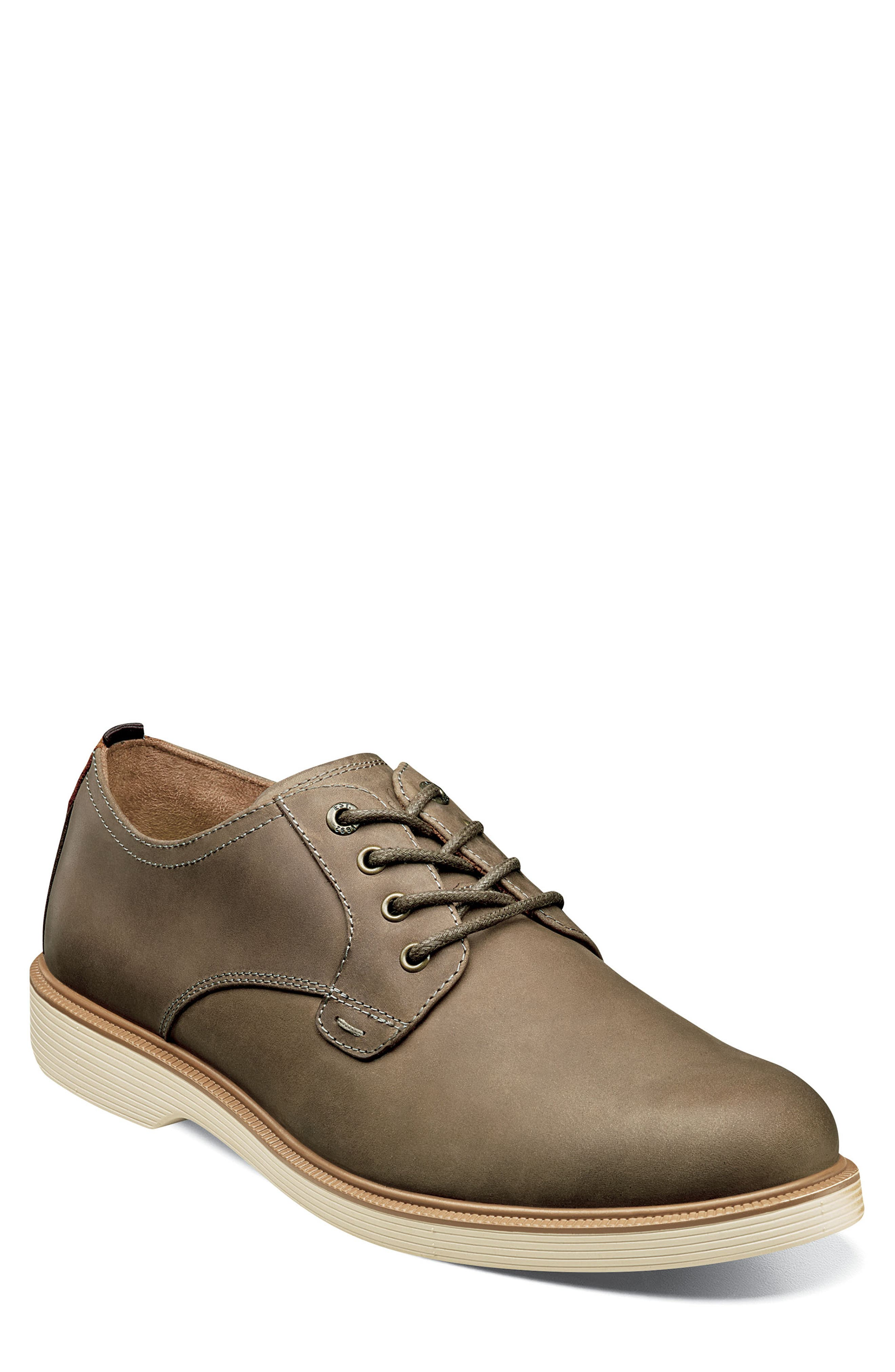 Image of Florsheim Supacush Leather Plain Toe Derby