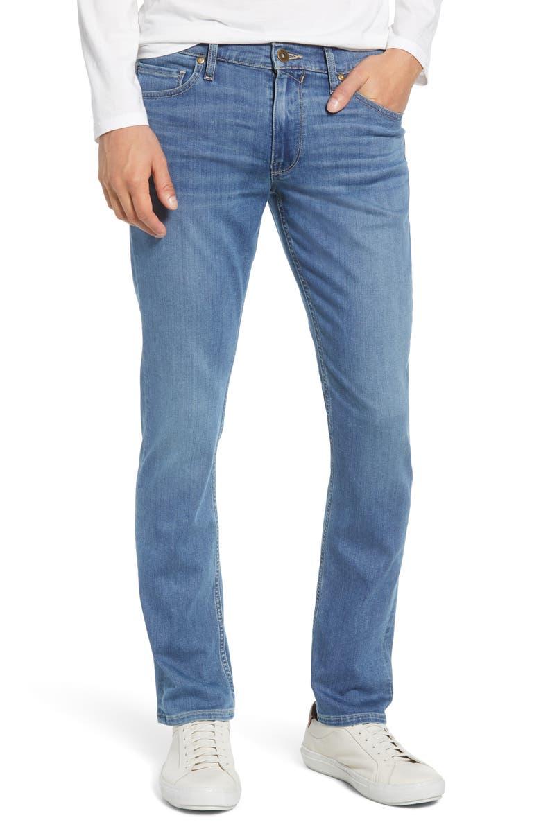 PAIGE Transcend - Lennox Slim Jeans, Main, color, CRESTFIELD
