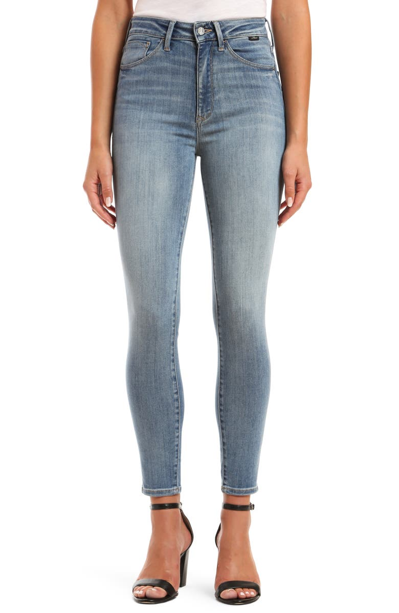 MAVI JEANS Scarlett SuperSoft High Waist Ankle Skinny Jeans, Main, color, 420