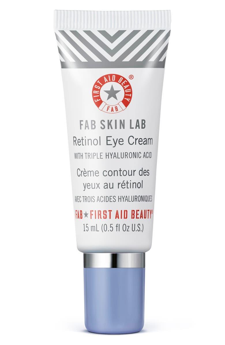 FIRST AID BEAUTY Fab Skin Lab Retinol Eye Cream, Main, color, NO COLOR