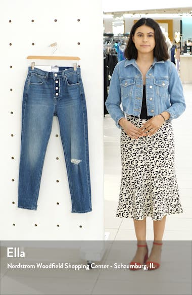 Le Pegged Crop Jeans, sales video thumbnail