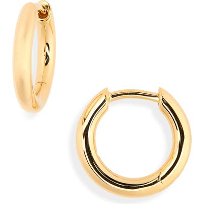 Tom Wood Small Classic Hoop Earrings