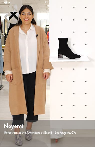 Odelia Square Toe Bootie, sales video thumbnail