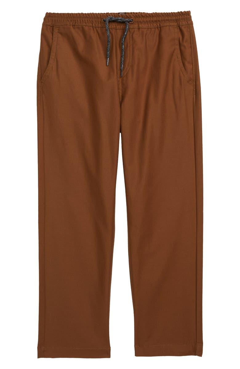 VOLCOM Riser Comfort Chino Pants, Main, color, BISON
