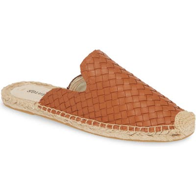 Soludos Woven Espadrille Mule- Brown