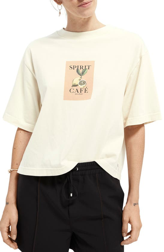 Scotch & Soda PHOTOPRINT GRAPHIC TEE