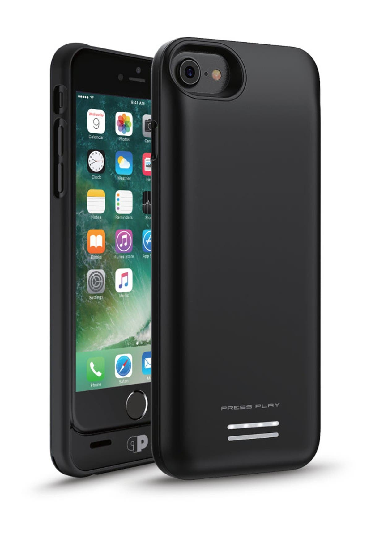 Image of PRESS PLAY MFi Venue Batter iPhone 7/6S/6 Case - Black