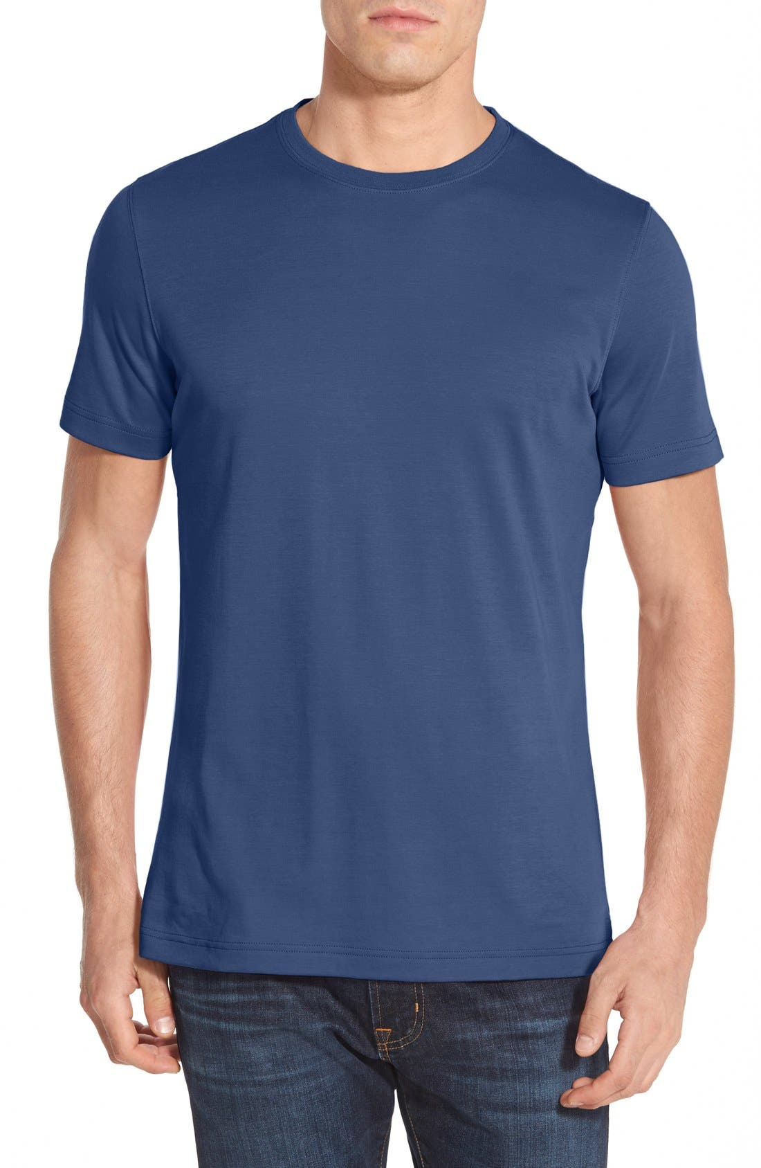 ,                             Georgia Crewneck T-Shirt,                             Main thumbnail 246, color,                             411