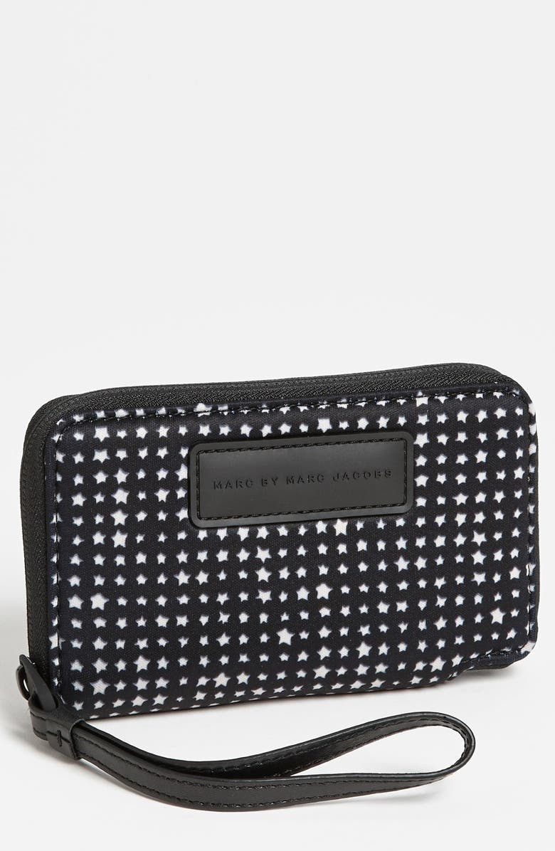 MARC JACOBS MARC BY MARC JACOB 'Reluctant Stars - Wingman' Phone Wallet, Main, color, 002