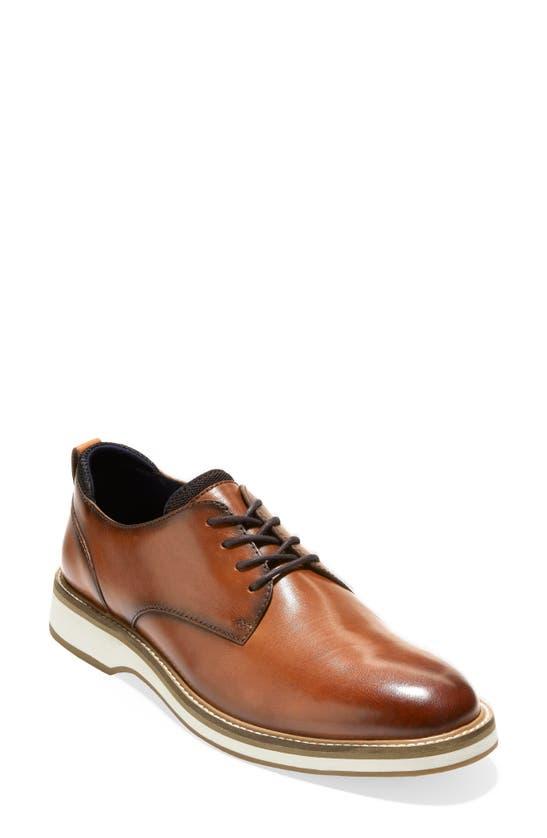 Cole Haan Men's Morris Plain Oxfords Men's Shoes In British Tan / Ivory