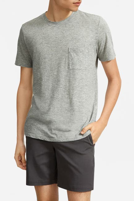 Image of EVERLANE Air Pocket Crew Neck T-Shirt