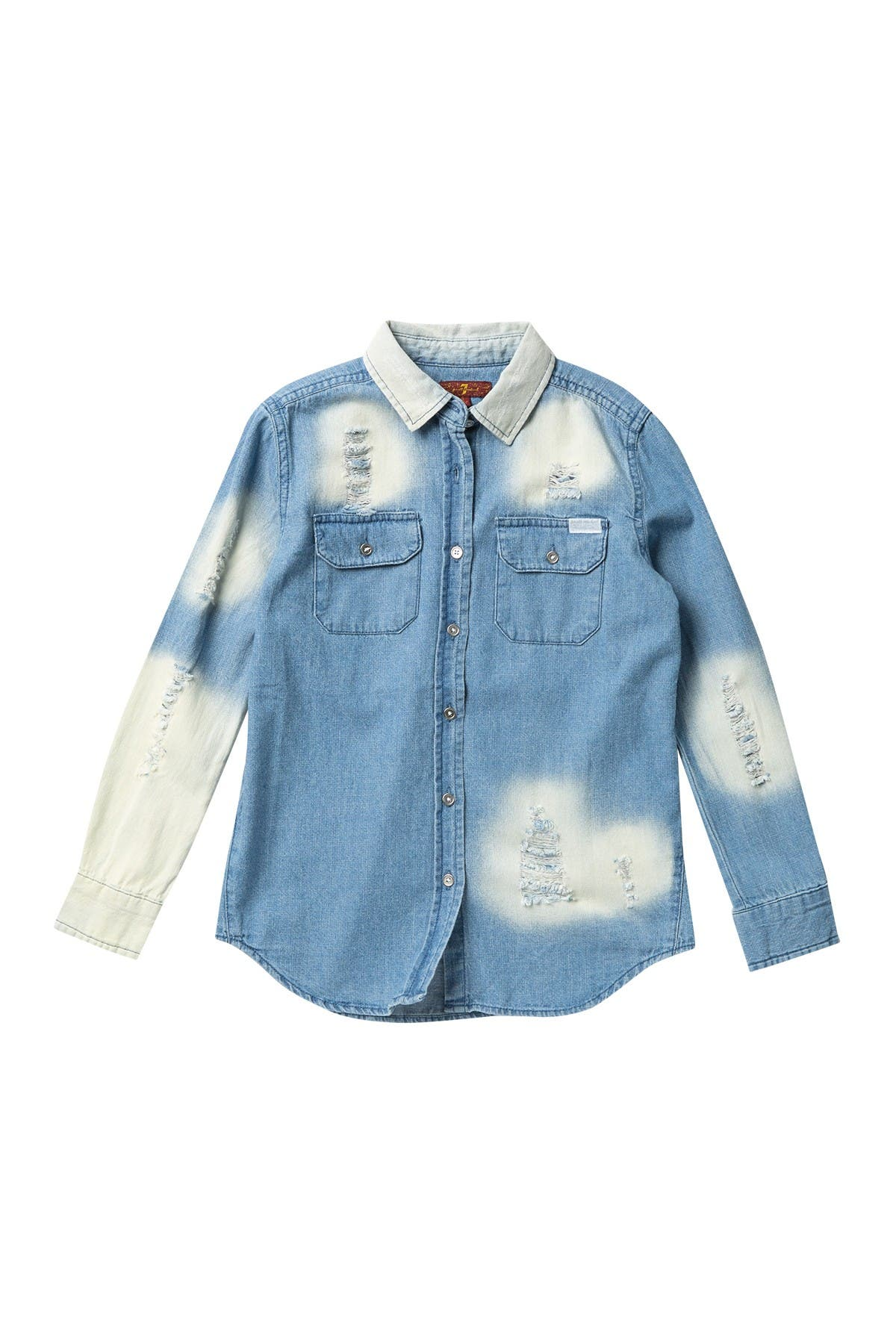 Image of 7 For All Mankind Oversized Denim Shirt