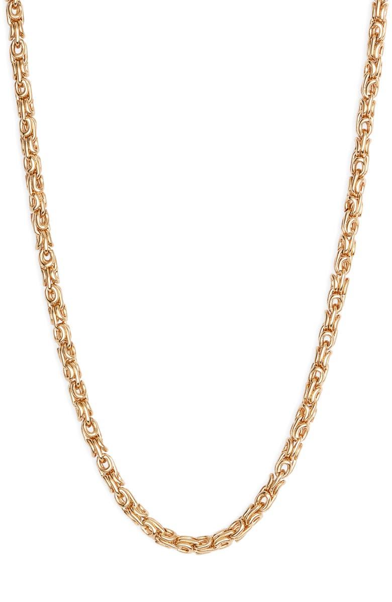 GAS BIJOUX Maglia Chain Necklace, Main, color, 710