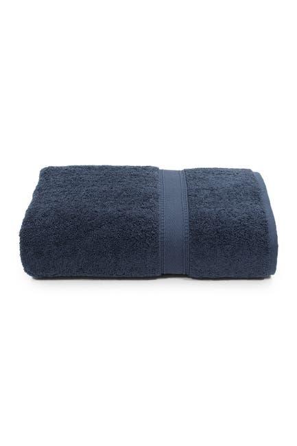 Image of LINUM HOME Sinemis Terry Bath Towel - Navy