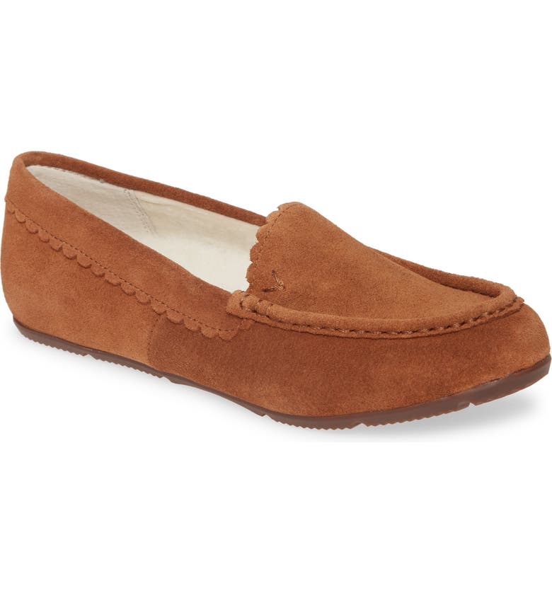 VIONIC McKenzie Moccasin, Main, color, TOFFEE SUEDE