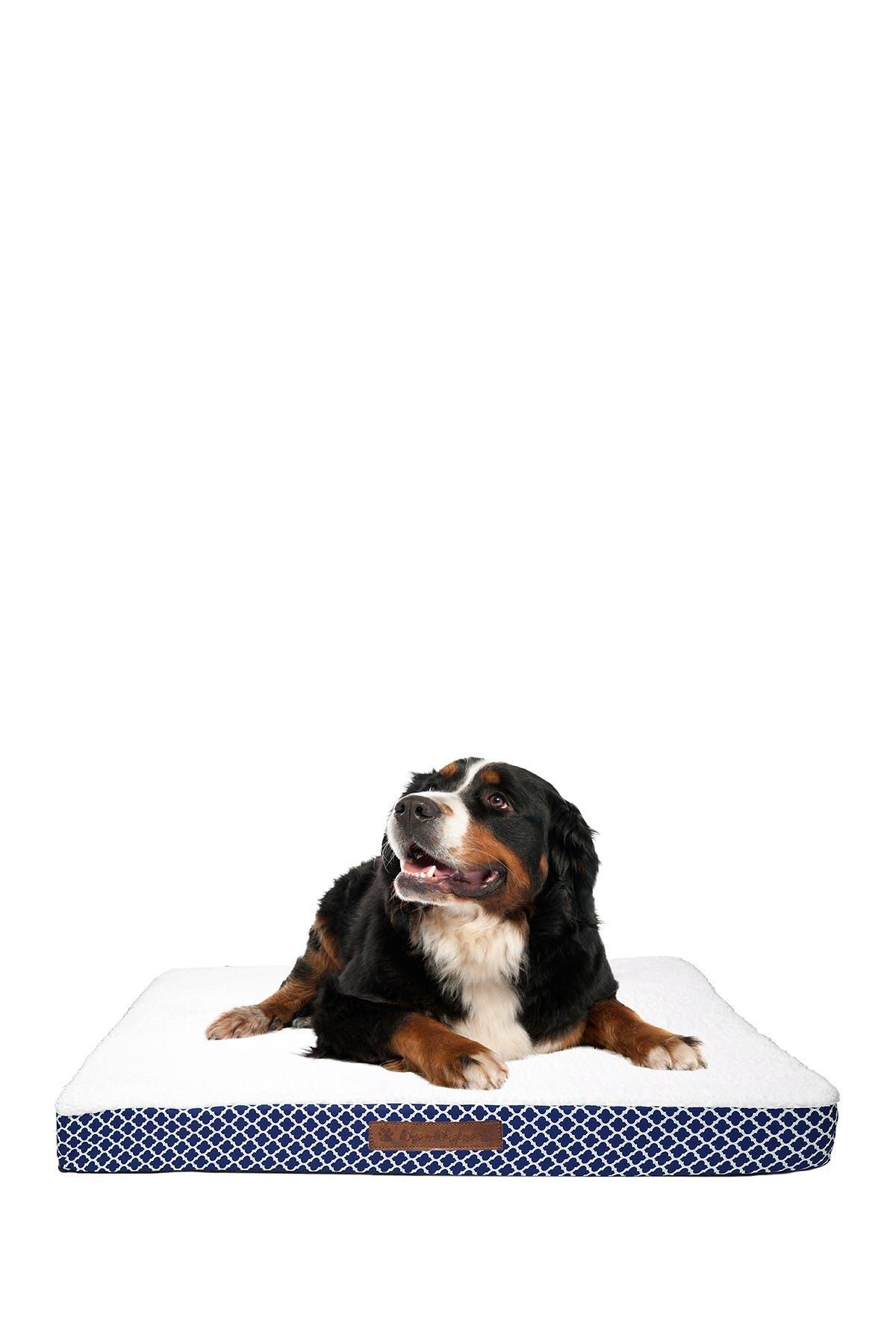 Image of Duck River Textile Cezebel Trellis Large Orthopedic Memory Foam Pet Bed