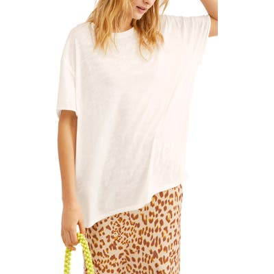 Free People Clarity Tee, White