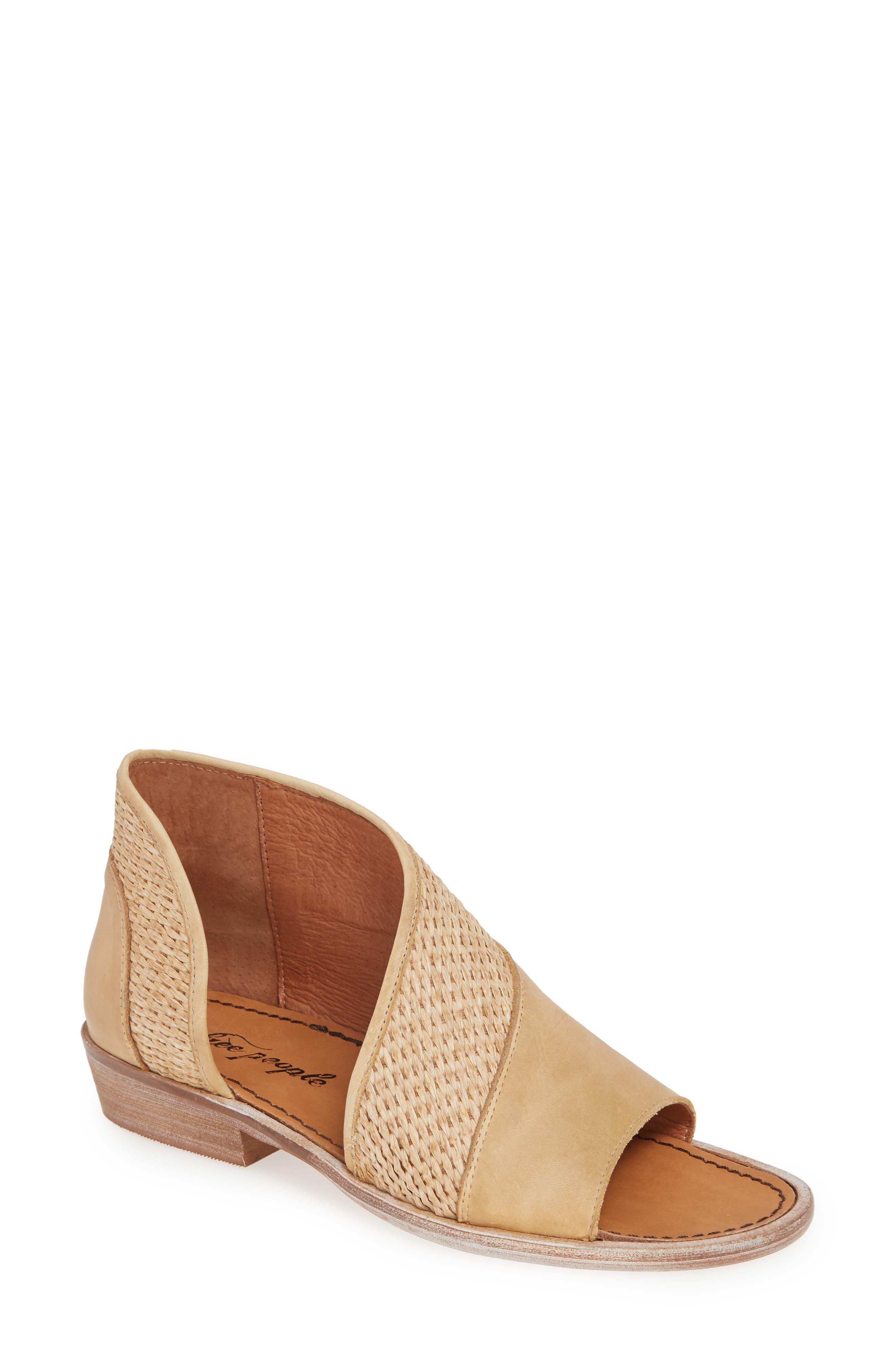 ,                             'Mont Blanc' Asymmetrical Sandal,                             Main thumbnail 1, color,                             NATURAL