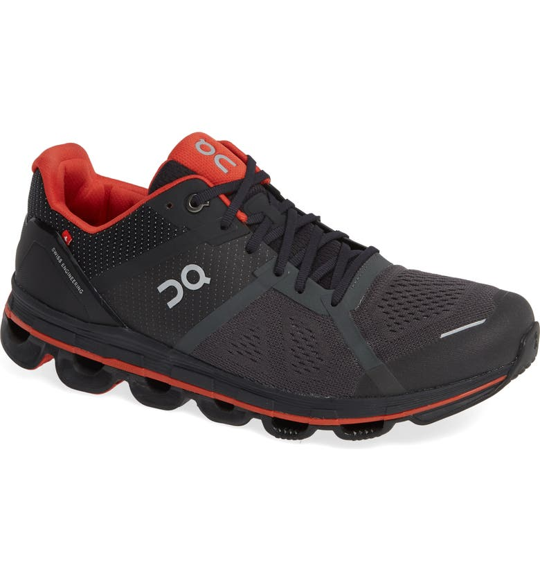 ON RUNNING Cloudace Running Shoe, Main, color, SHADOW/ RUST MESH