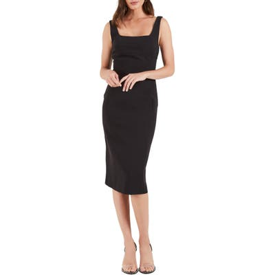 Cooper St Ritz Sheath Dress, Black