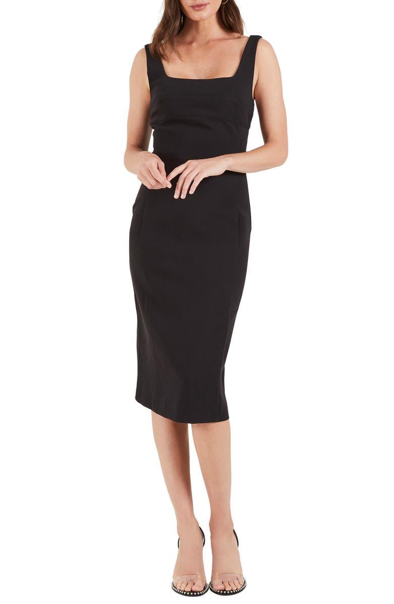 COOPER ST Ritz Sheath Dress, Main, color, 001