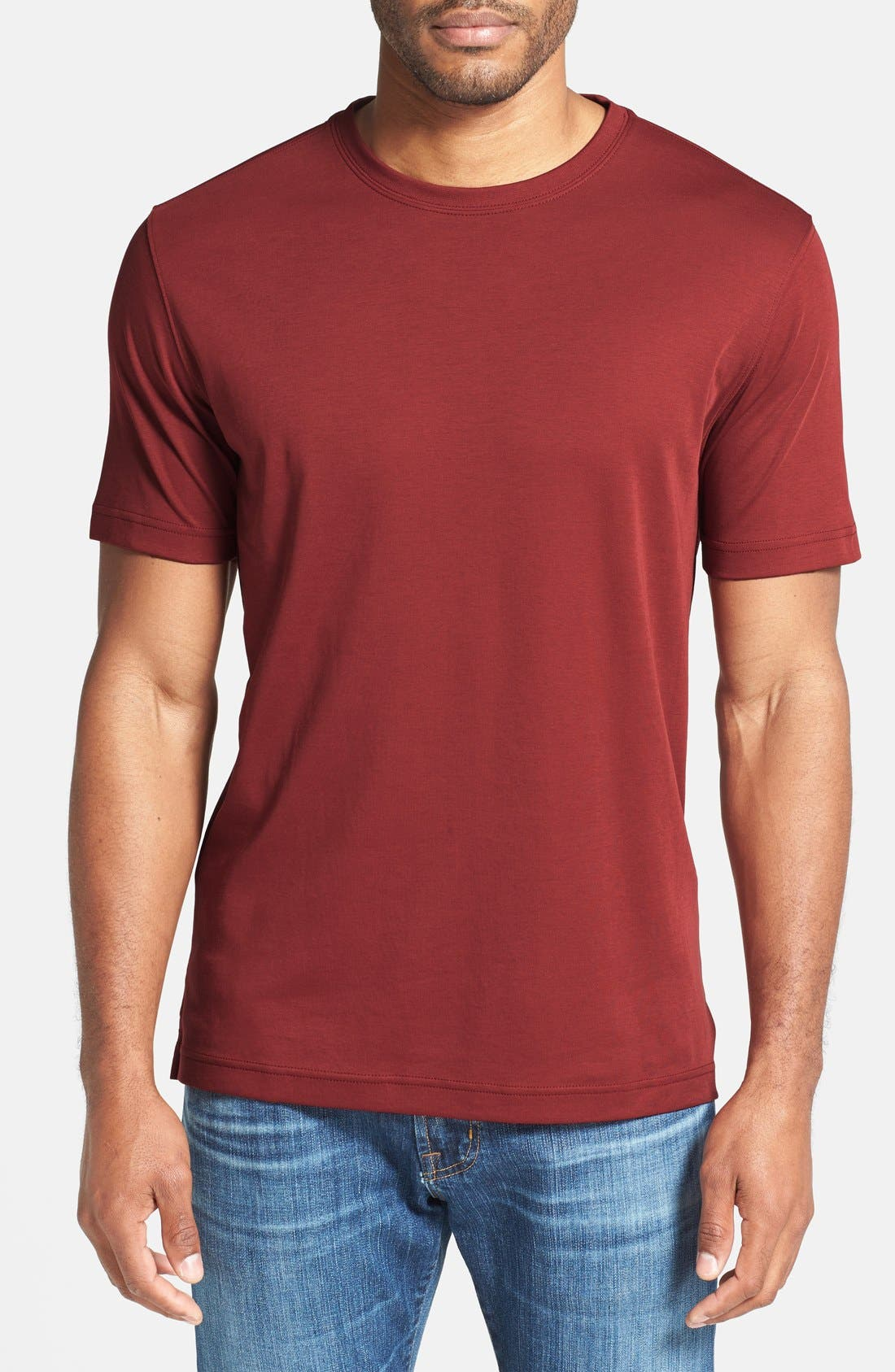 ,                             Georgia Crewneck T-Shirt,                             Main thumbnail 453, color,                             623
