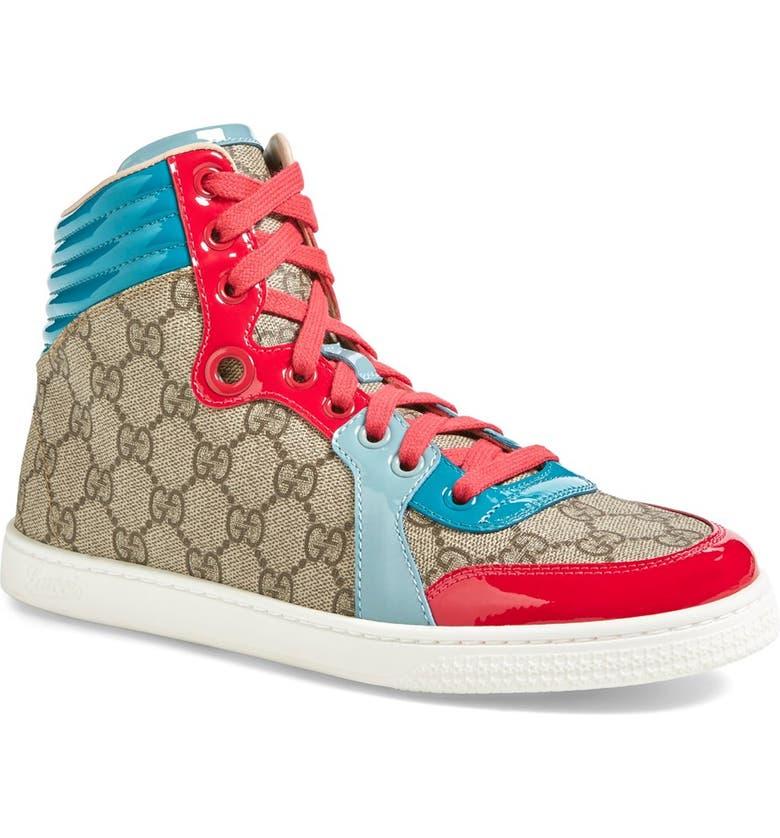 7d41ef998 Gucci 'Coda' High Top Sneaker (Women)   Nordstrom